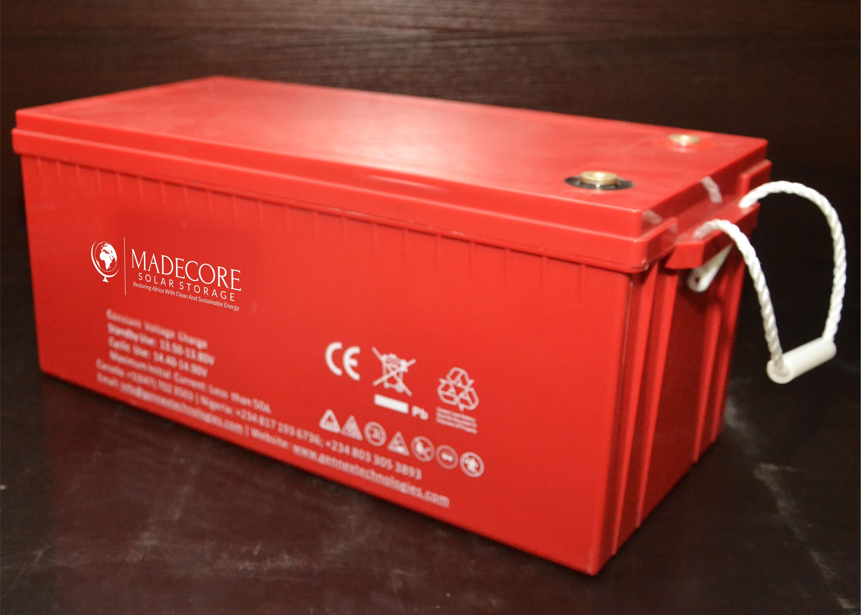 MADECORE-Storage-Battery-200AH-compressor